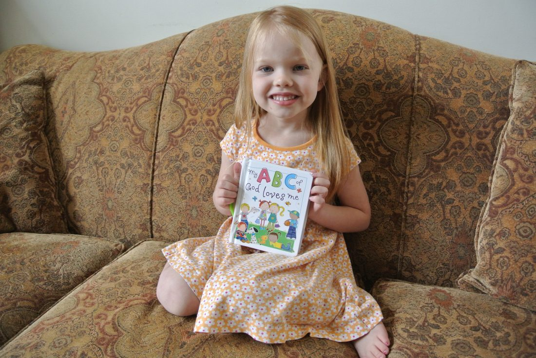 """Review/Giveaway of """"My ABC of God Loves Me"""""""