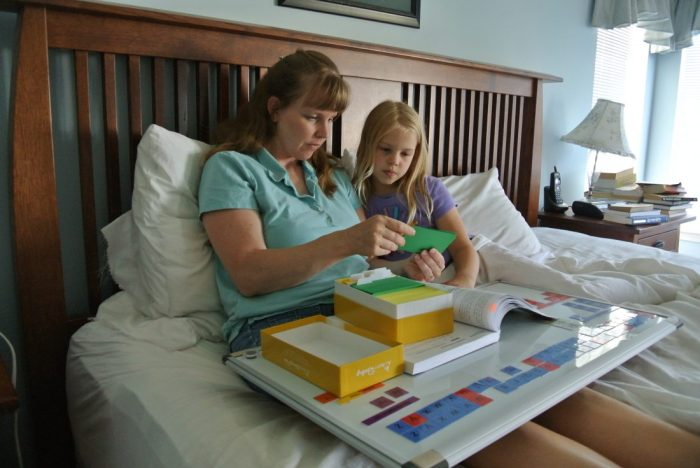 All About Reading curriculum for helping homeschoolers teach a child with dyslexia.