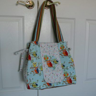 From House to Home {Link Party}: My New Owl Purse!