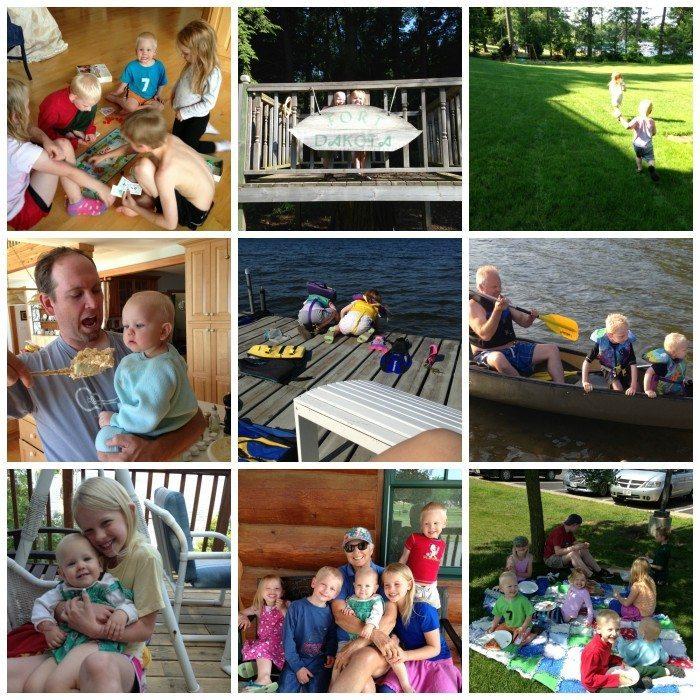 PicMonkey Collage-lake vacation