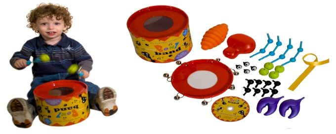 Educents Deal:  Musical Instruments BonzBand Set