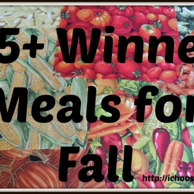 35+ Winner Meals for Fall