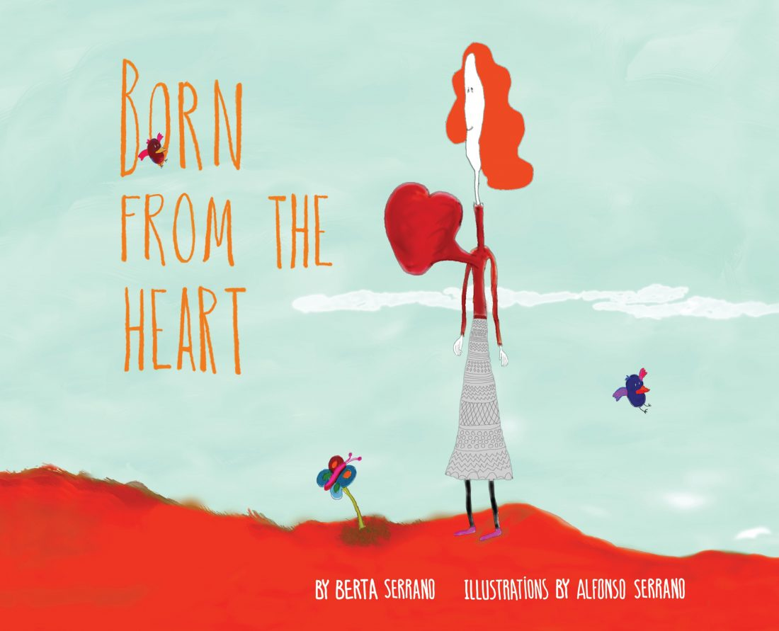 "Review/Giveaway ""Born From the Heart"" by Berta Serrano"