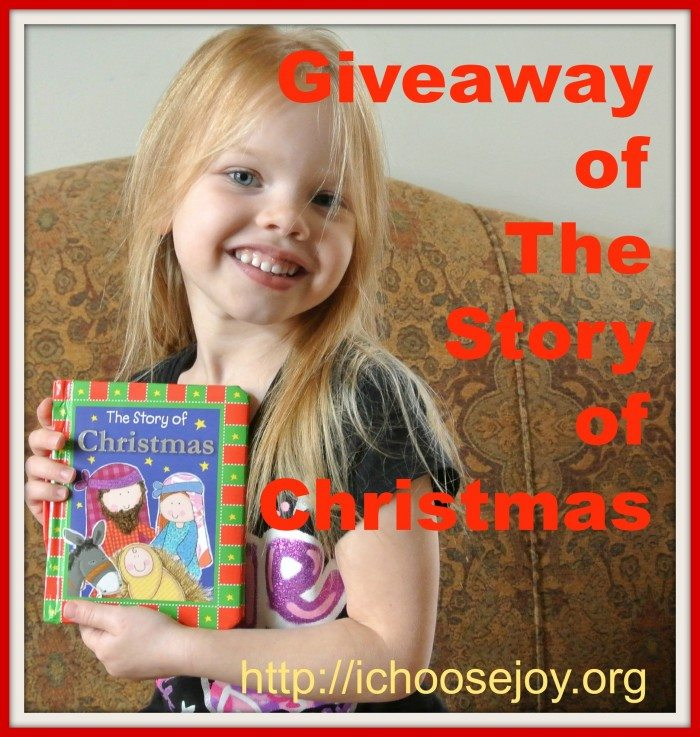 Giveaway of The Story of Christmas