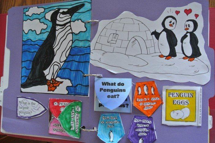 Penguin lapbook 018