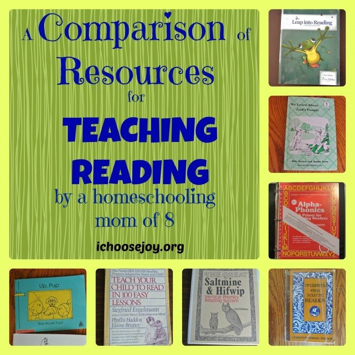 Resources for Teaching Reading
