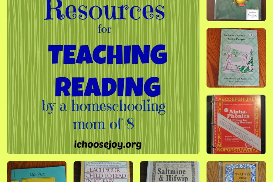 A Comparison of Resources for Teaching Reading by a homeschool mom who taught her 8 kids to read.