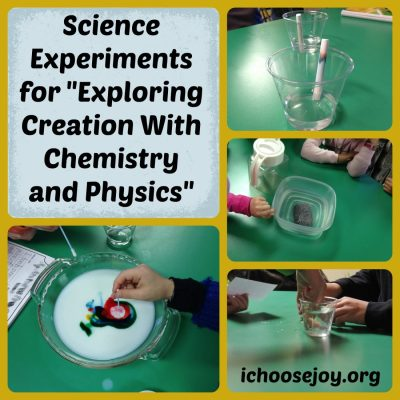 Homeschool Essentials: Apologia Chemistry and Physics Experiments