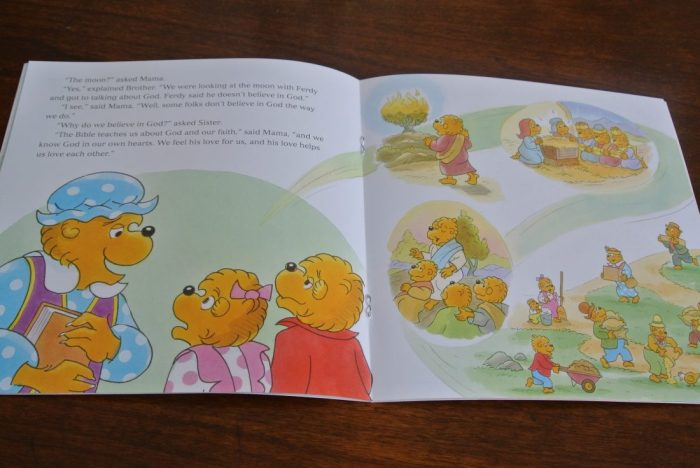 Book reviews- Daniel, Noah, Berenstain Bears Keep Faith, Veggie 020