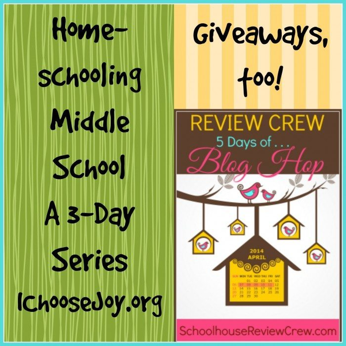 Homeschooling Middle School final
