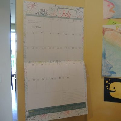 Giveaway of The Well-Planned Day Wall Calendar 2014-2015!
