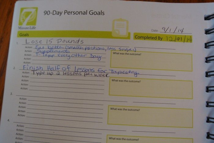 audition & 7 Minute Life Daily Planner 041