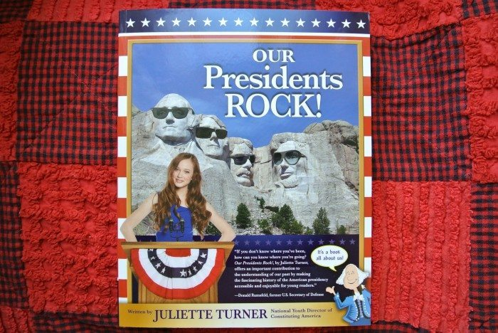 Our Presidents Rock! by Juliette Turner 001