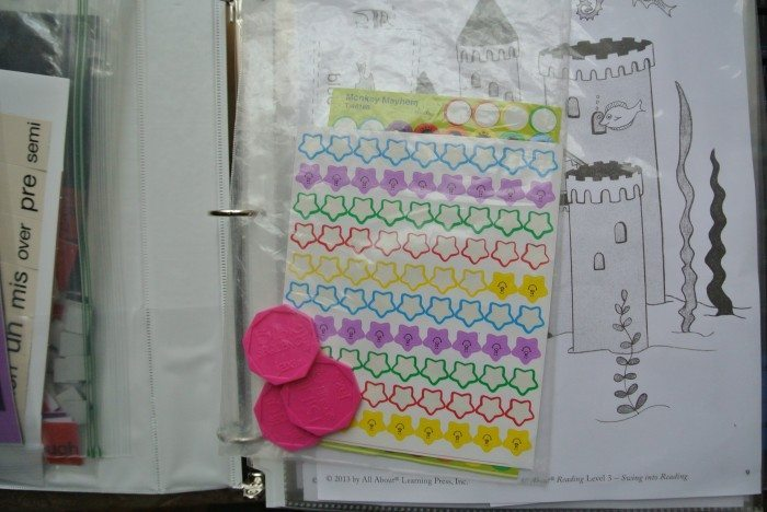 Set up Notebook for All About Reading and Spelling 004