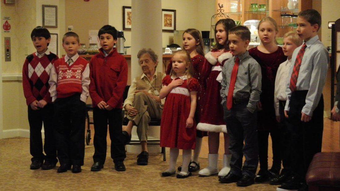 Christmas Presentation at an Assisted Living Center