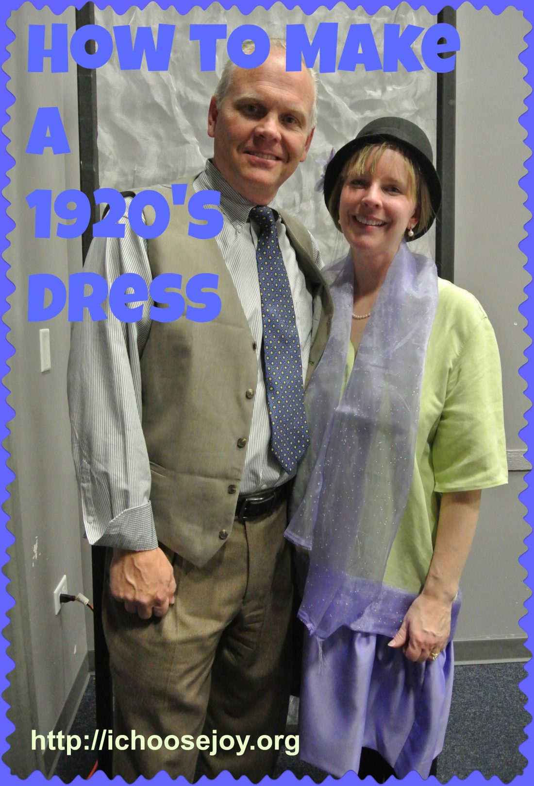How to Make a 1920's Dress and Cloche Hat