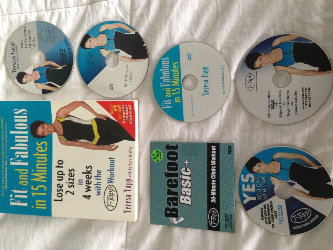 T-Tapp Giveaway: Prize Pack (Book, 4 DVDs, 2 CDs)