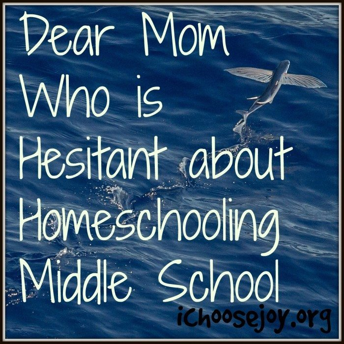 Hesitant About Homeschooling Middle School