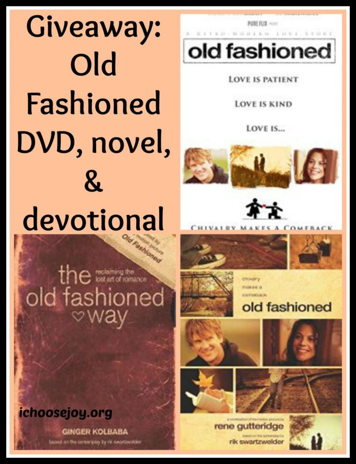 Review/Giveaway: Old Fashioned books and DVD