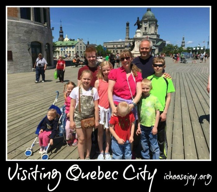 Visiting Quebec City