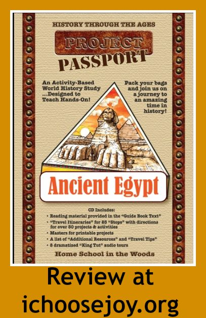 Home School in the Woods Ancient Egypt