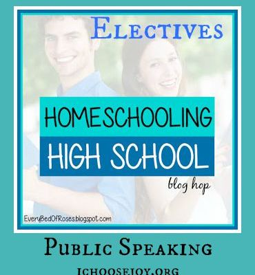 How to Include Public Speaking During Your Homeschool High School Years
