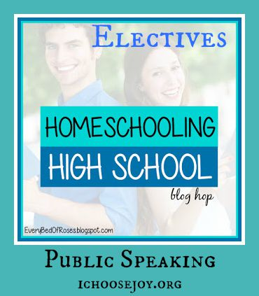Homeschool High School Public Speaking speech drama and debate