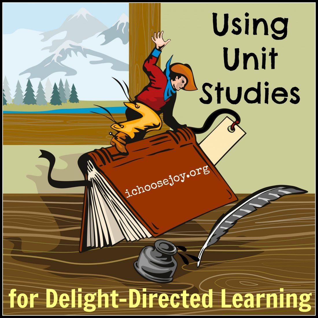 Using Unit Studies for Delight-Directed Learning