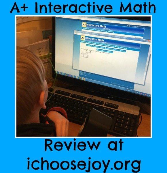 Math Curriculum Giveaway: A+ Tutorsoft