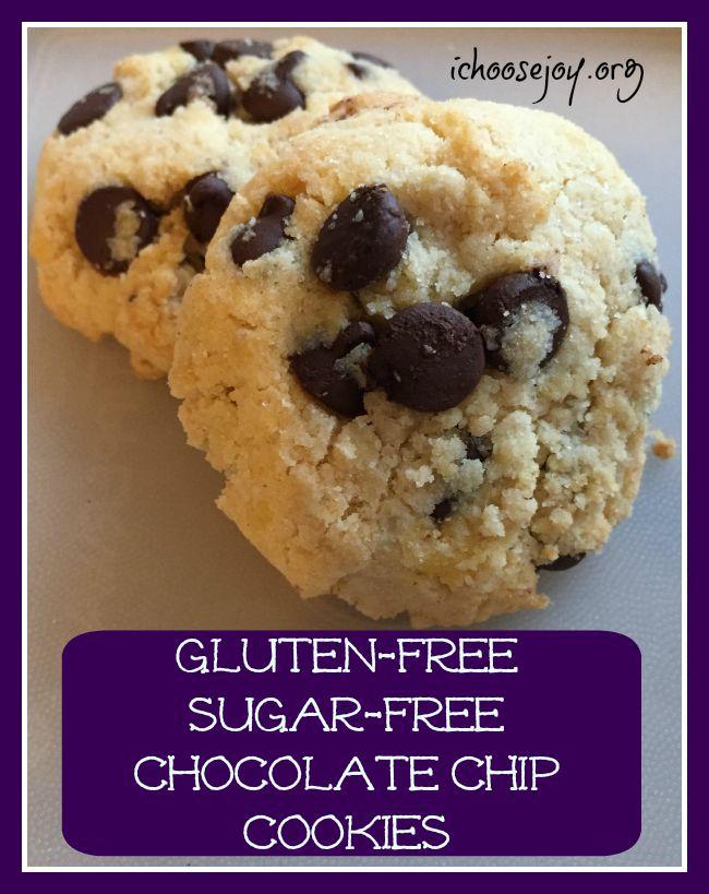 Recipe: Gluten-Free Sugar-Free Chocolate Chip Cookies