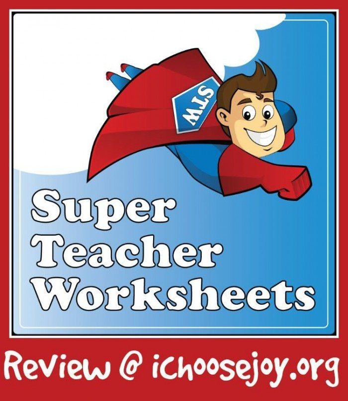 Super Teacher Worksheets (Homeschool Curriculum Review)