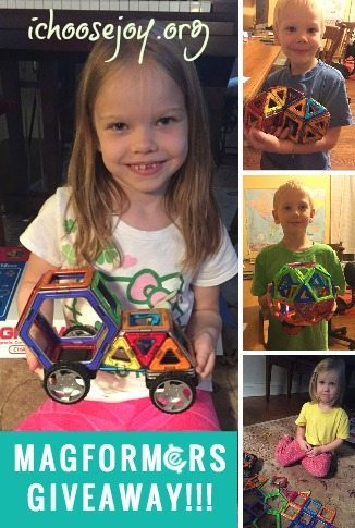 Giveaway: Magformers Challenger Set! Awesome toy for ages 3-13!