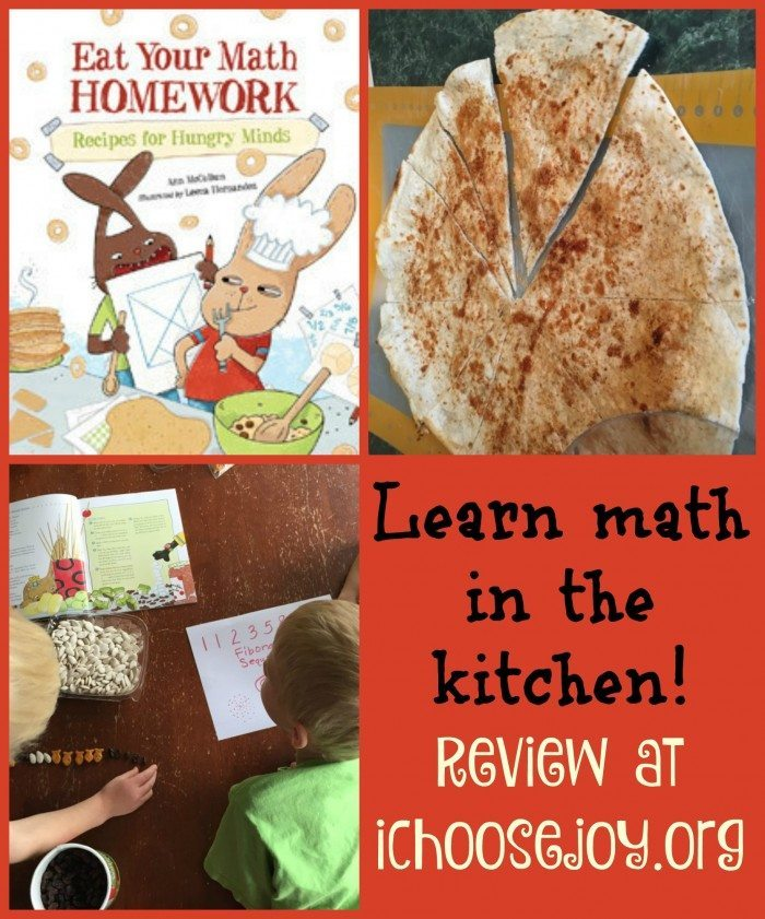 Eat Your Math Homework review at ichoosejoy.org