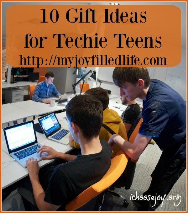10 Gift Ideas for Techie Teens