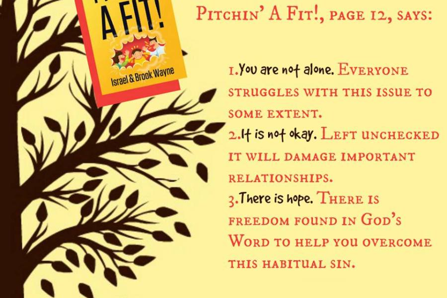 Pitchin' a Fit? Get Help With Your Anger & Frustration