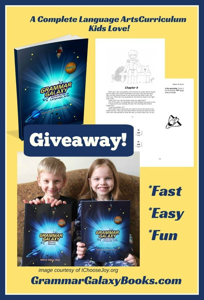Grammar Galaxy Giveaway and Coupon Code