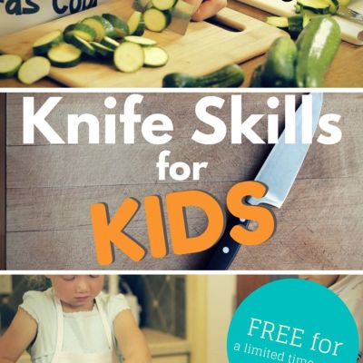 Teach Your Kids Kitchen Knife Skills–with these FREE videos (limited time)