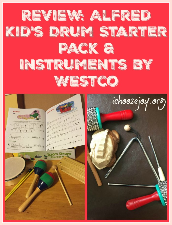 Review: Alfred Kid's Drum Starter Pack & Instruments by Westco