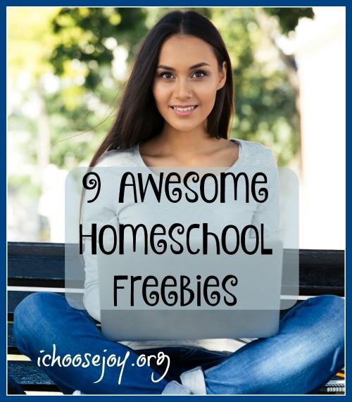 9 Awesome Homeschool Freebies