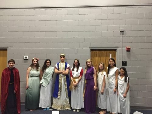 The Trojan Women play