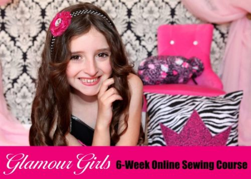 Glamour Girls 6 week Sewing Course