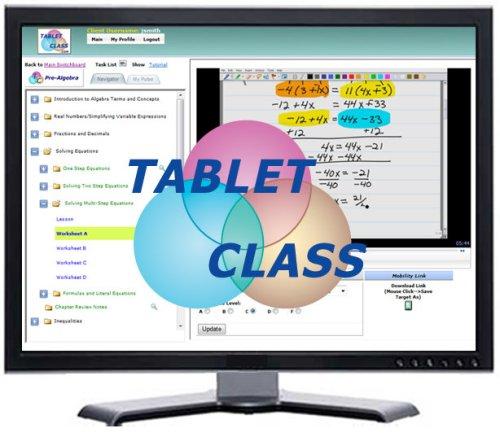 TabletClass math course
