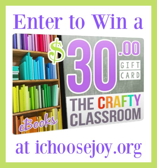The Crafty Classroom $30 Gift Certificate Giveaway!