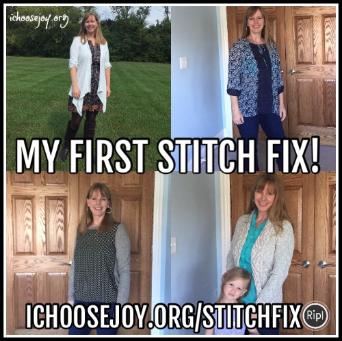 My First Stitch Fix Shipment