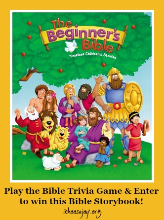 The Beginner's Bible Trivia Game