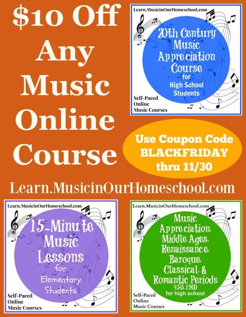 Online Music Course Black Friday Sale