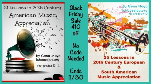 Music Appreciation Curriculum Black Friday Sale