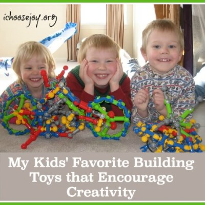 My Kids' Favorite Building Toys that Encourage Creativity
