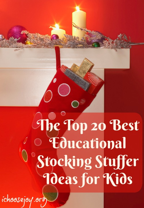 The Top 20 Best Educational Stocking Stuffer Ideas for Kids (with $500 Cash GIVEAWAY!)