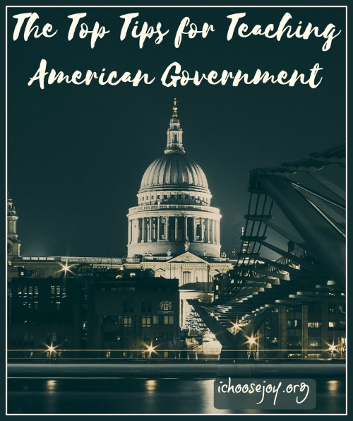 The Top Tips for Teaching American Government